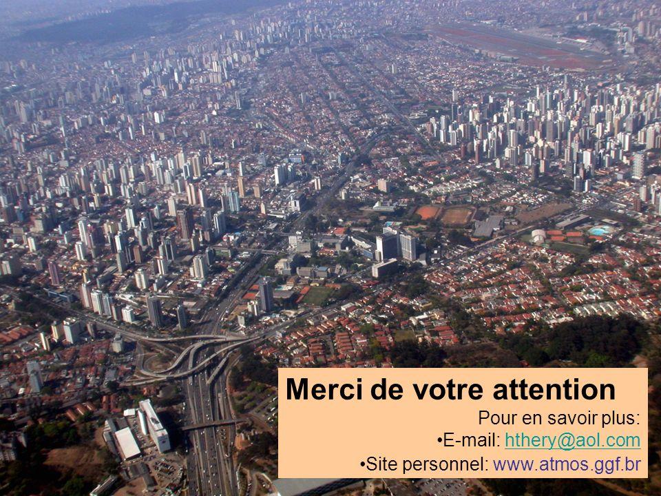 Merci de votre attention Pour en savoir plus: E-mail: hthery@aol.comhthery@aol.com Site personnel: www.atmos.ggf.br