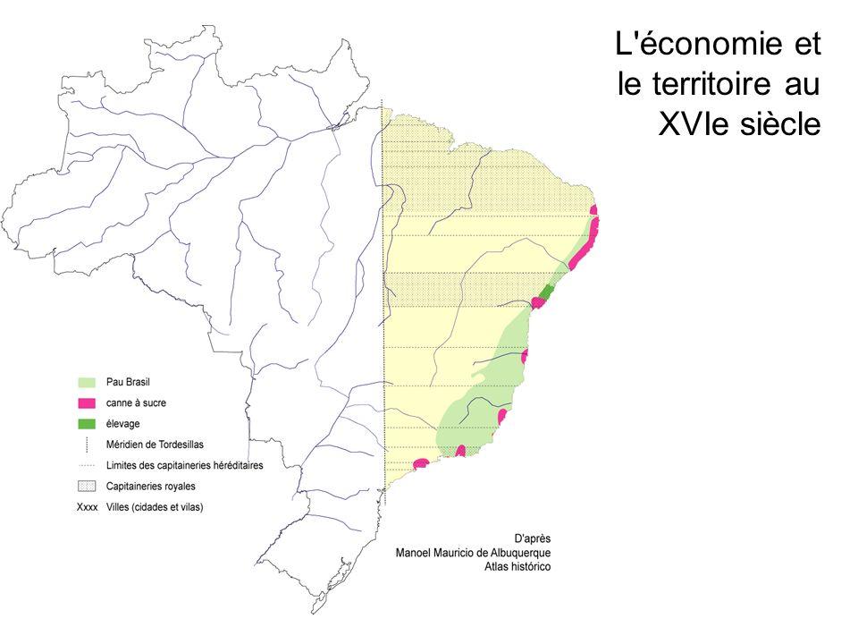 L économie et le territoire au XVIe siècle