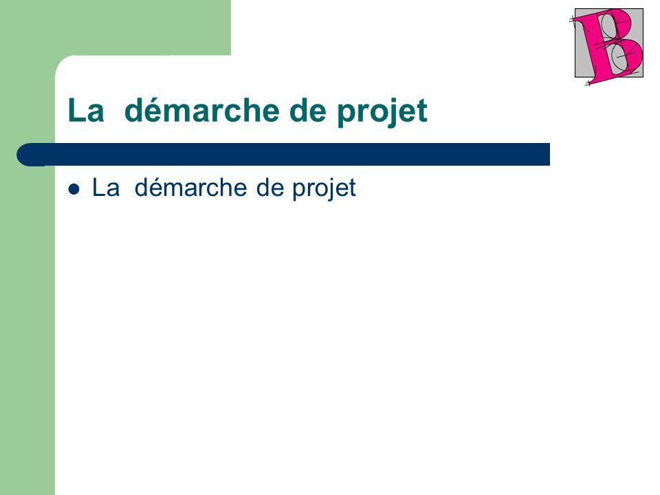 La démarche de projet