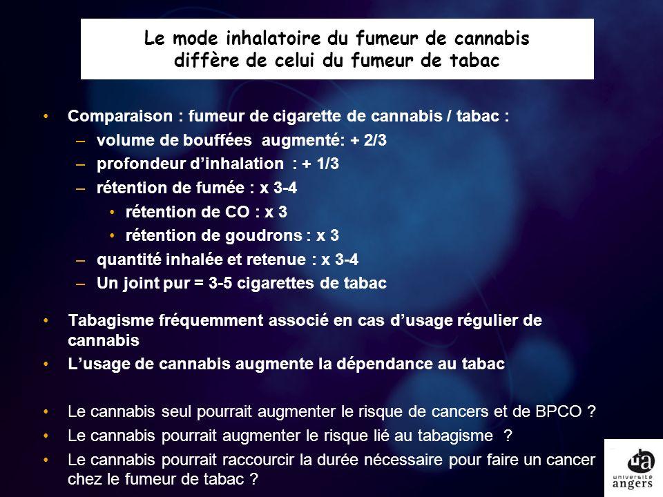 Quand et pourquoi repérer le fumeur de cannabis .