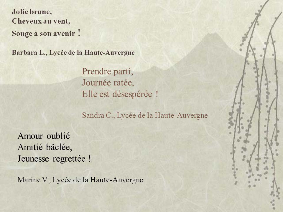 Verre de sirop Mouche gourmande et curieuse Fin dune vie Lolita N., Lycée de la Haute-Auvergne
