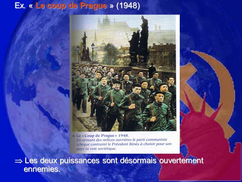 Les débuts de la Guerre froide : (1947-62) Un enchaînement de crises qui ont failli faire basculer le monde dans un conflit nucléaire.