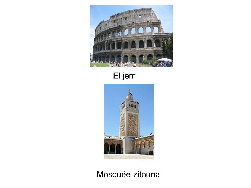 El jem Mosquée zitouna