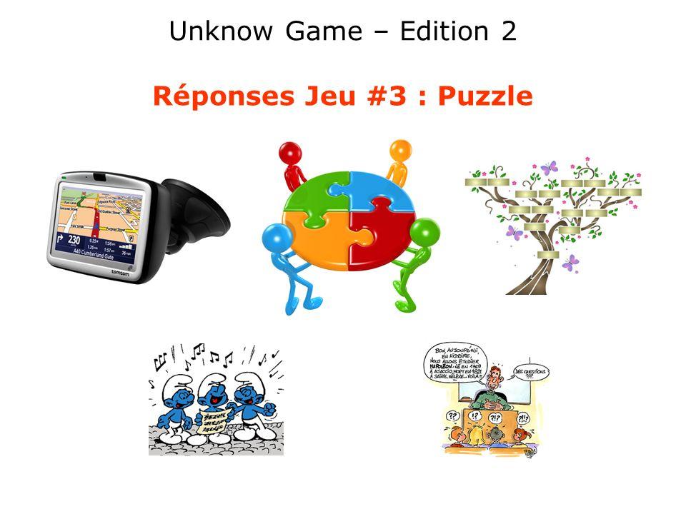 REGLES DU JEU 1 ère étape : Constituez le Puzzle - Mettez les pièces dans lordre et complétez le avec les pièces manquantes (1, 2, 3 et 4) - Le Puzzle rentre dans le rectangle vert ; inutile de redimensionner ou faire pivoter les pièces - Les pièces se chevauchent légèrement parfois, et des traits blancs peuvent apparaître entre les pièces 2 ème étape : Répondez aux 4 petits jeux - Les jeux sont indépendants - Chaque bonne réponse à un jeu vous permettra dobtenir la pièce manquante Renvoyez le puzzle constitué et vos réponses aux 4 jeux au Sphinx (lesphinx.ug@gmail.com)lesphinx.ug@gmail.com Attention : Vos réponses aux 4 jeux ne seront pas acceptées si le puzzle nest pas correctement assemblé .