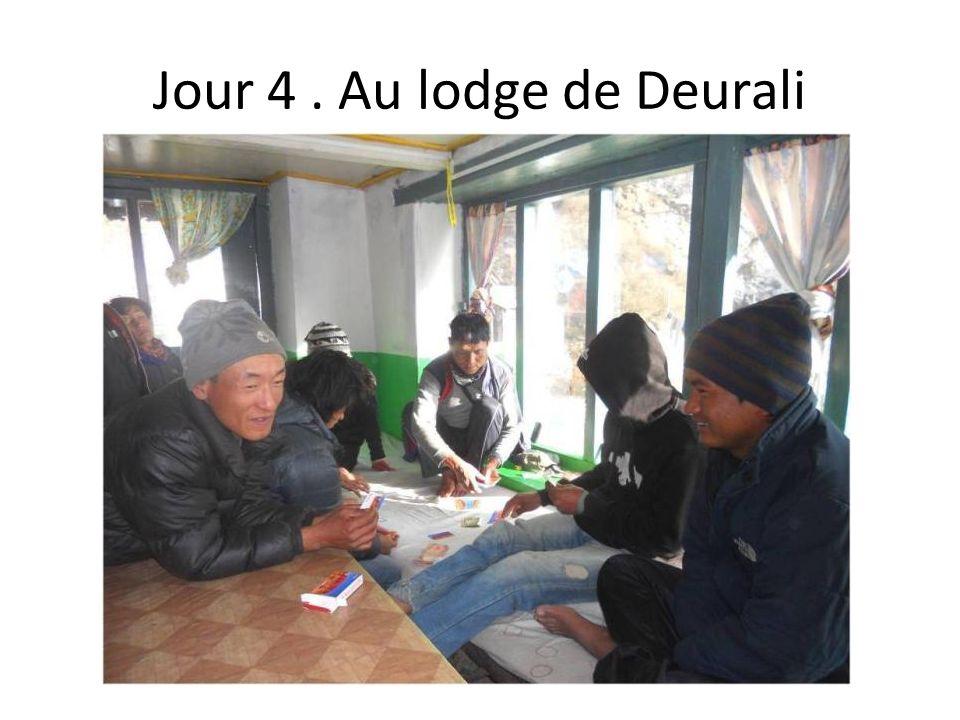 Jour 4. Au lodge de Deurali