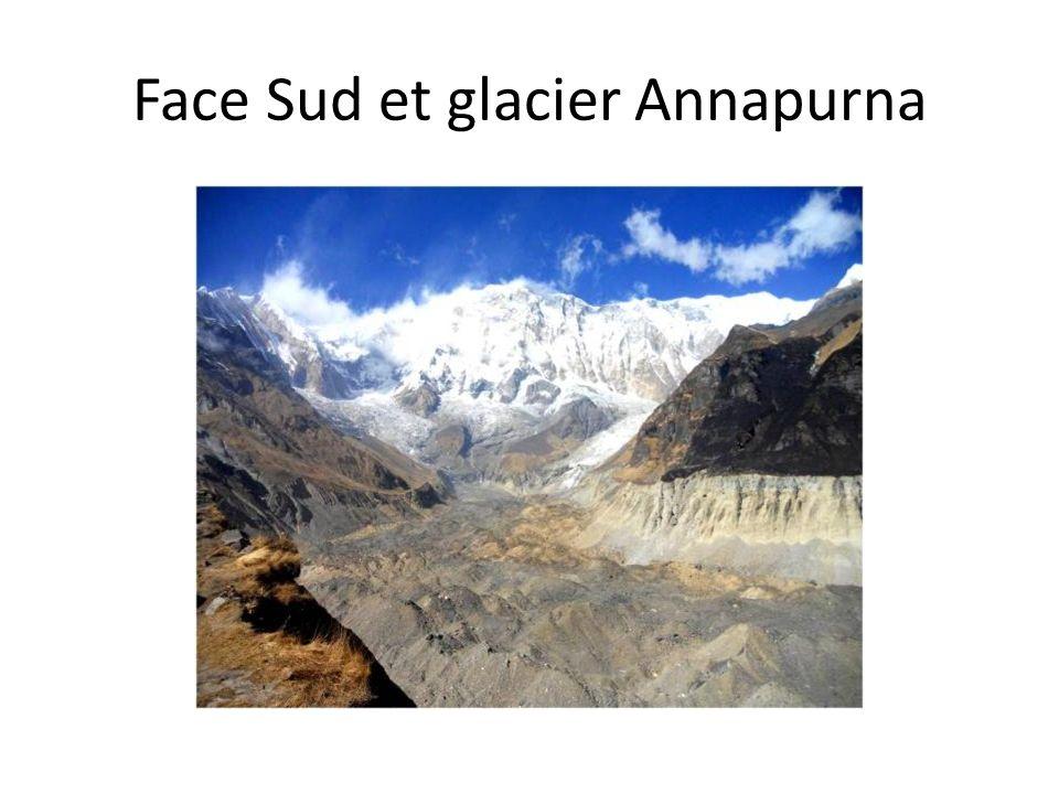 Face Sud et glacier Annapurna