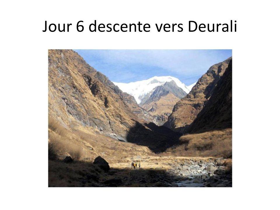 Jour 6 descente vers Deurali