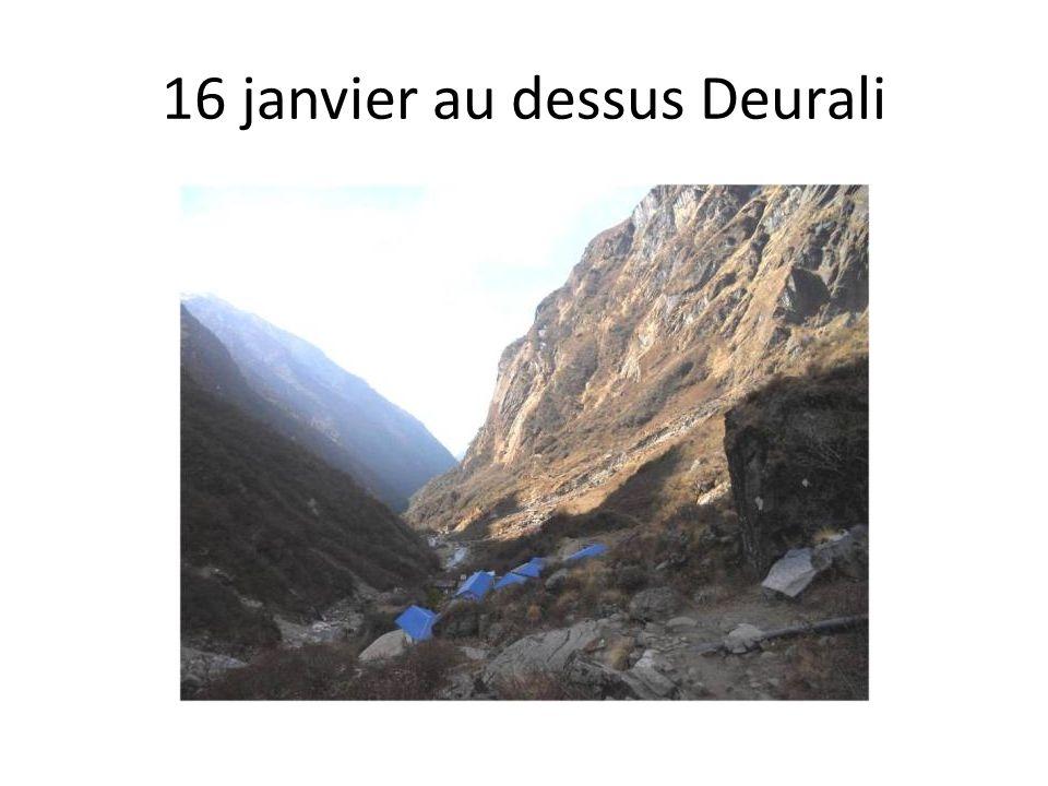 16 janvier au dessus Deurali