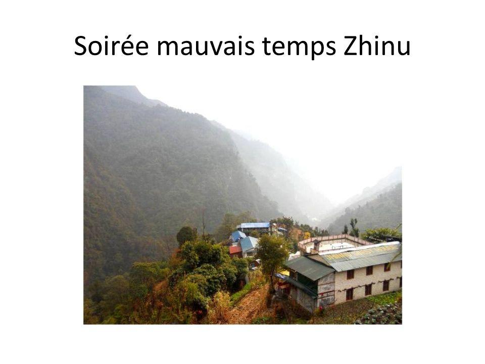 Soirée mauvais temps Zhinu