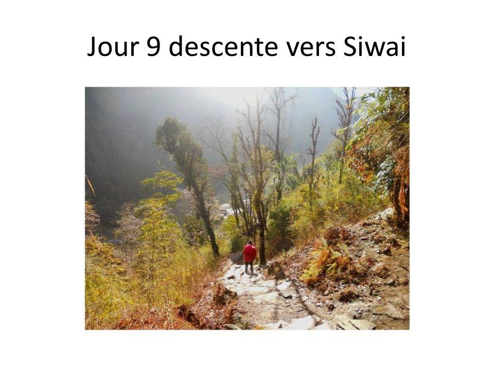 Jour 9 descente vers Siwai