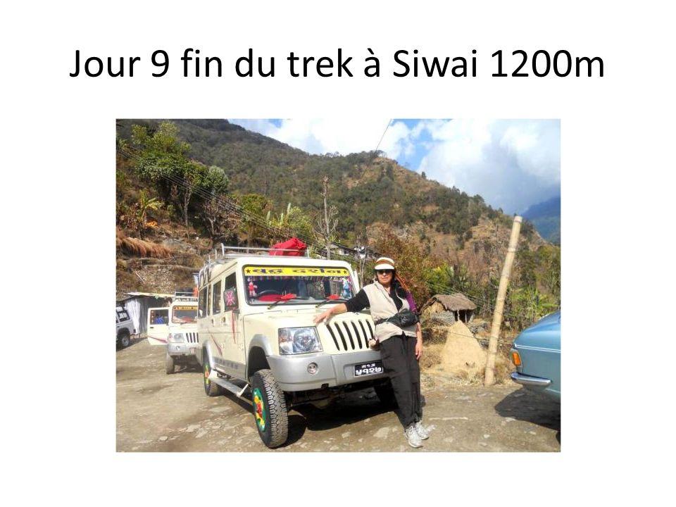 Jour 9 fin du trek à Siwai 1200m