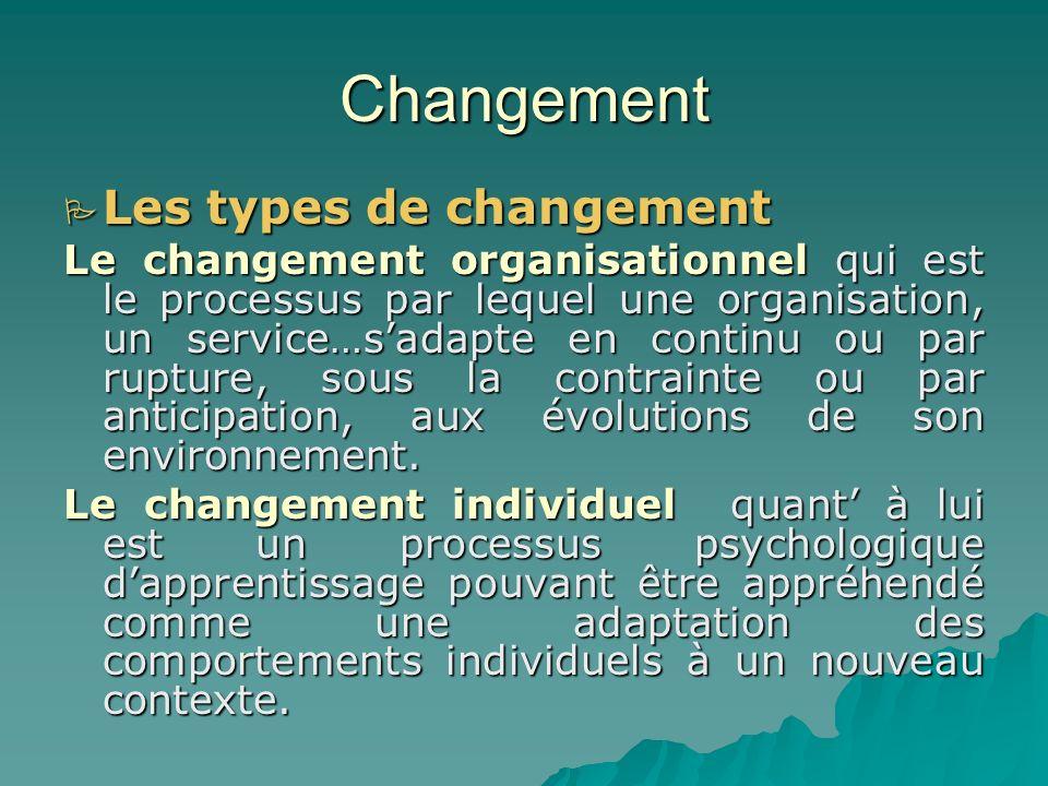 Changement Définition: Définition: Le changement est un processus de passage dun état A vers un état B. Le changement dans le système éducatif camerou