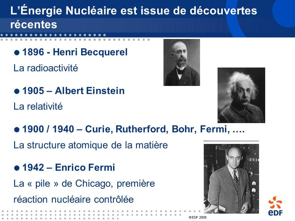 Le Renouveau de lÉnergie Nucléaire 1. LÉnergie Nucléaire en quelques dates 2. La situation internationale en 2000 3. Des évolutions récentes et profon