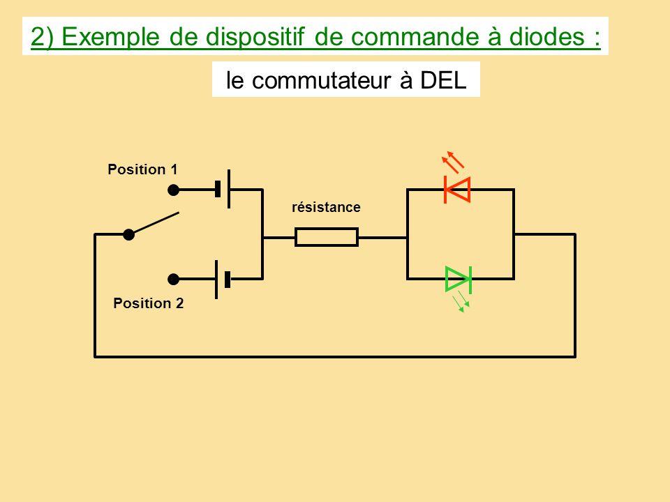 CONCLUSION: Une DEL ne séclaire que si le courant la traverse ……………………………… indiquée par son symbole. dans le sens de la flèche