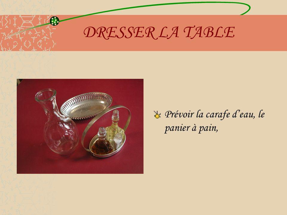 DIVERSES TABLES