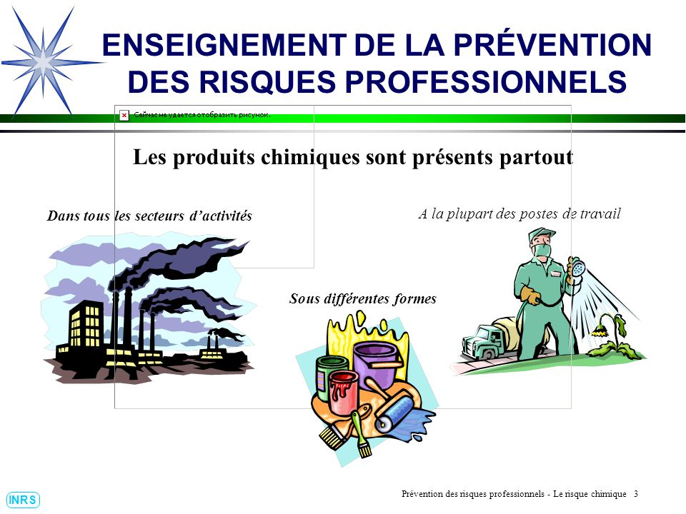 Prévention des Risques Professionnels : Construire un outil dobservation 14 INRS ENSEIGNEMENT DE LA PRÉVENTION DES RISQUES PROFESSIONNELS La Maladie Professionnelle.