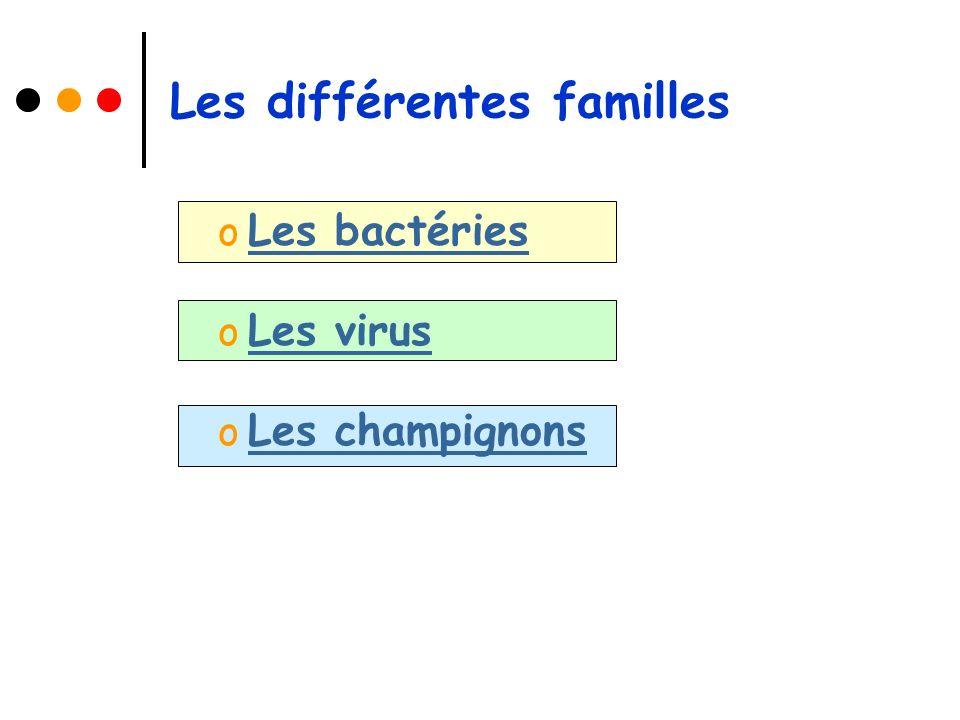 Les bactéries Elles sont de formes variées : o Rondes o Allongées o Spiralées o Incurvées