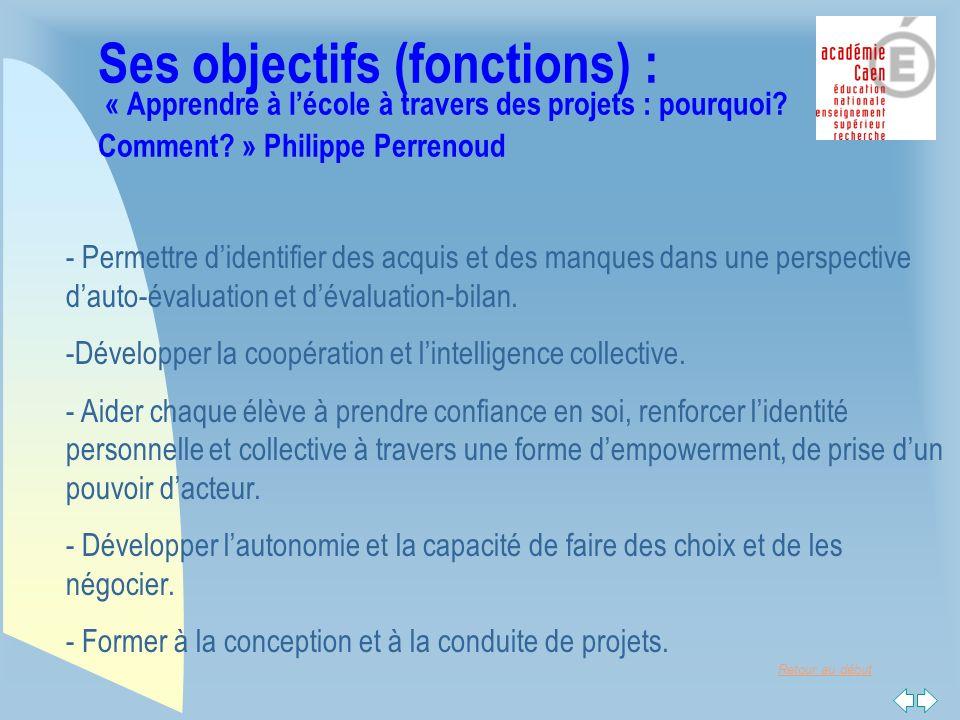 Retour au début Le « moteur pédagogique » du projet … un problème technique posé par une entreprise...