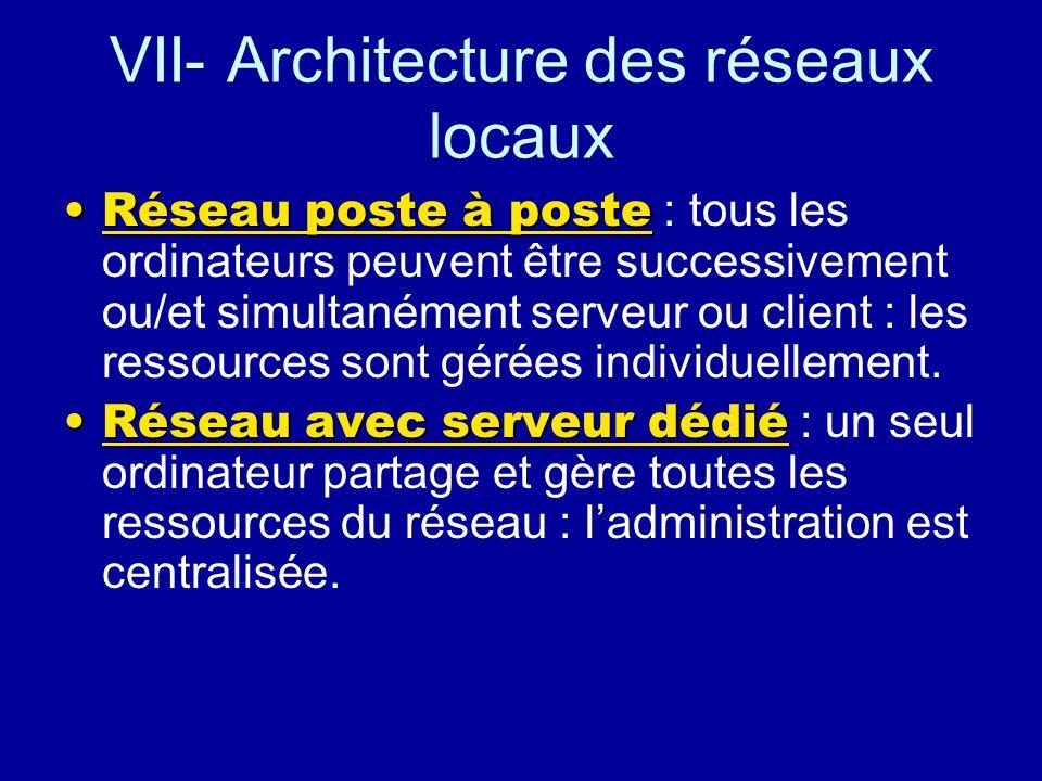 Le routeur Relie des réseaux de toutes natures : –des architectures différentes. –Des réseaux logiques différents. Le routeur comporte au moins 2 cart