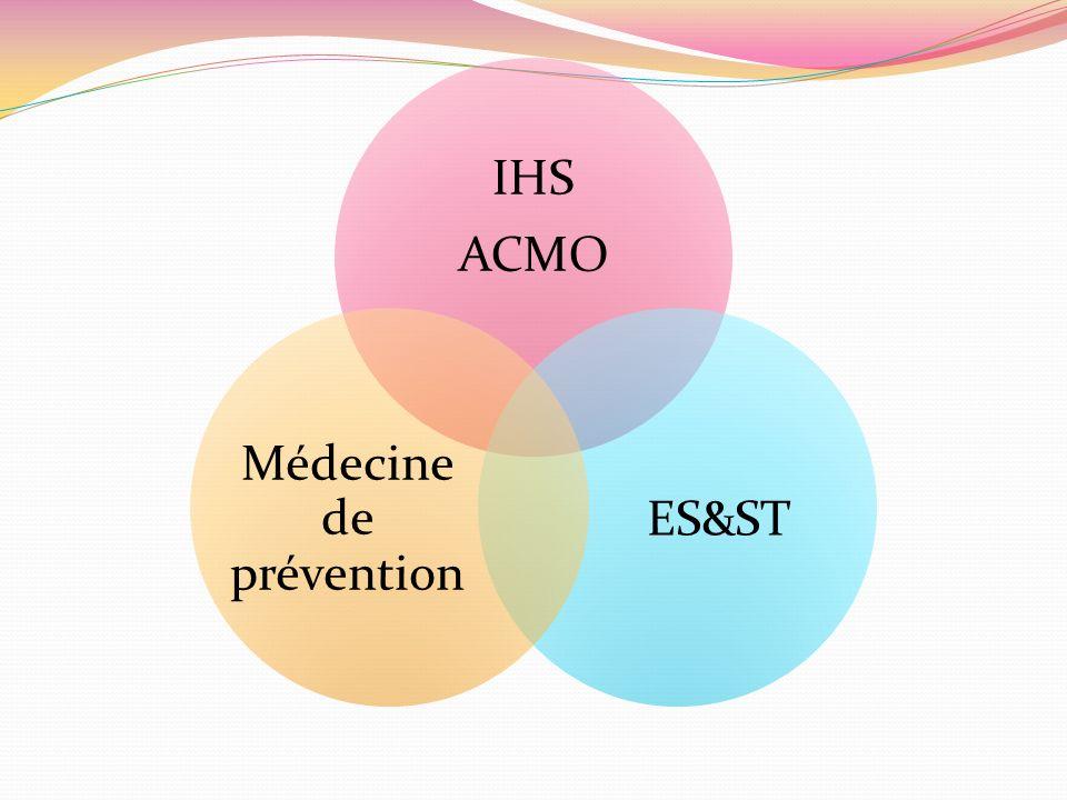 IHS ACMO ES&ST Médecine de prévention