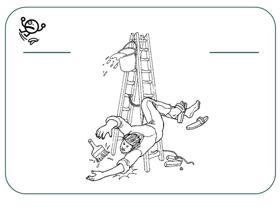 SITUATION Aujourdhui, à 11H40, Paul Boulanger, stagiaire en CAP peinture(entreprise BATI-OUEST Caen ) a eu un accident : En peignant une porte, installé en haut dune échelle,il a chuté.