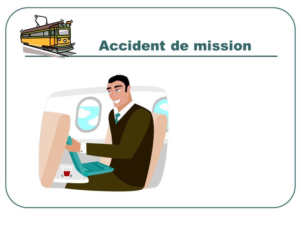 Accident de mission