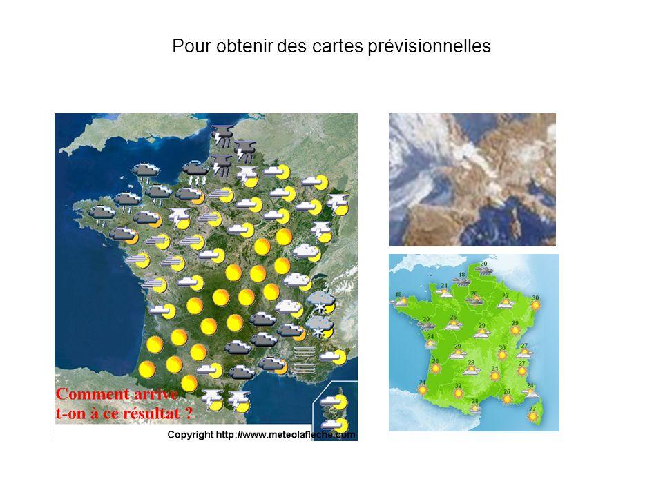 De plus en plus des stations météo locales comme celle-ci, vont nous fournir en temps réel des informations météorologiques.