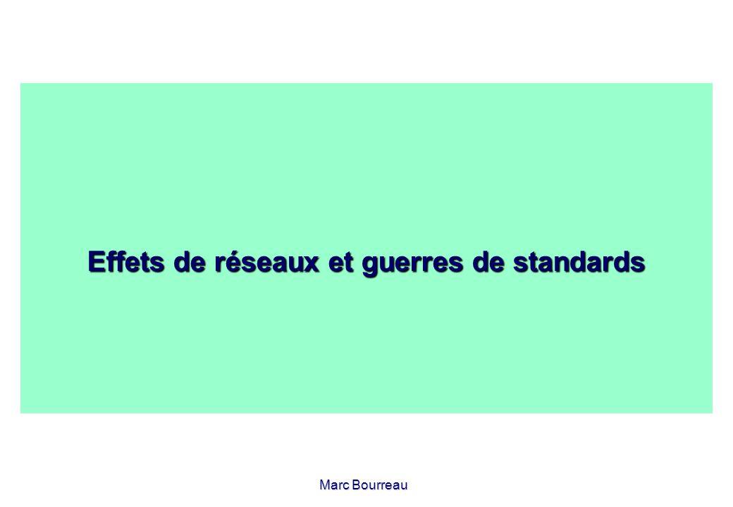 Marc Bourreau Effets de réseaux et guerres de standards