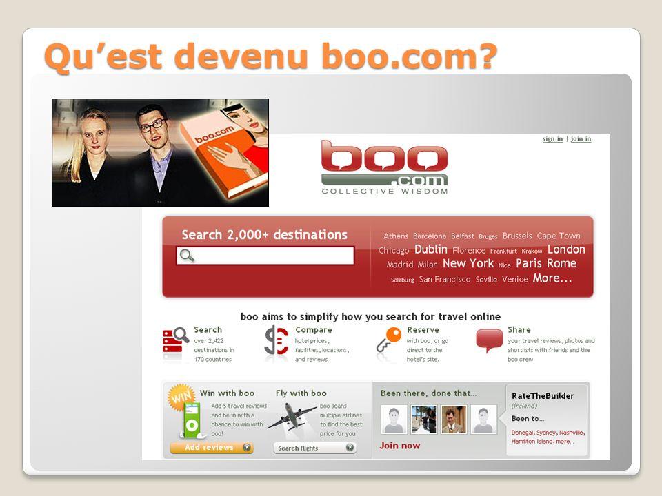 Quest devenu boo.com?