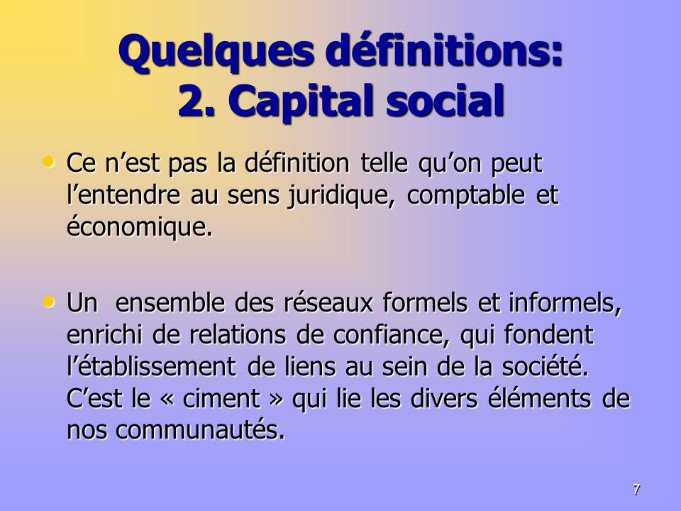 7 Quelques définitions: 2.
