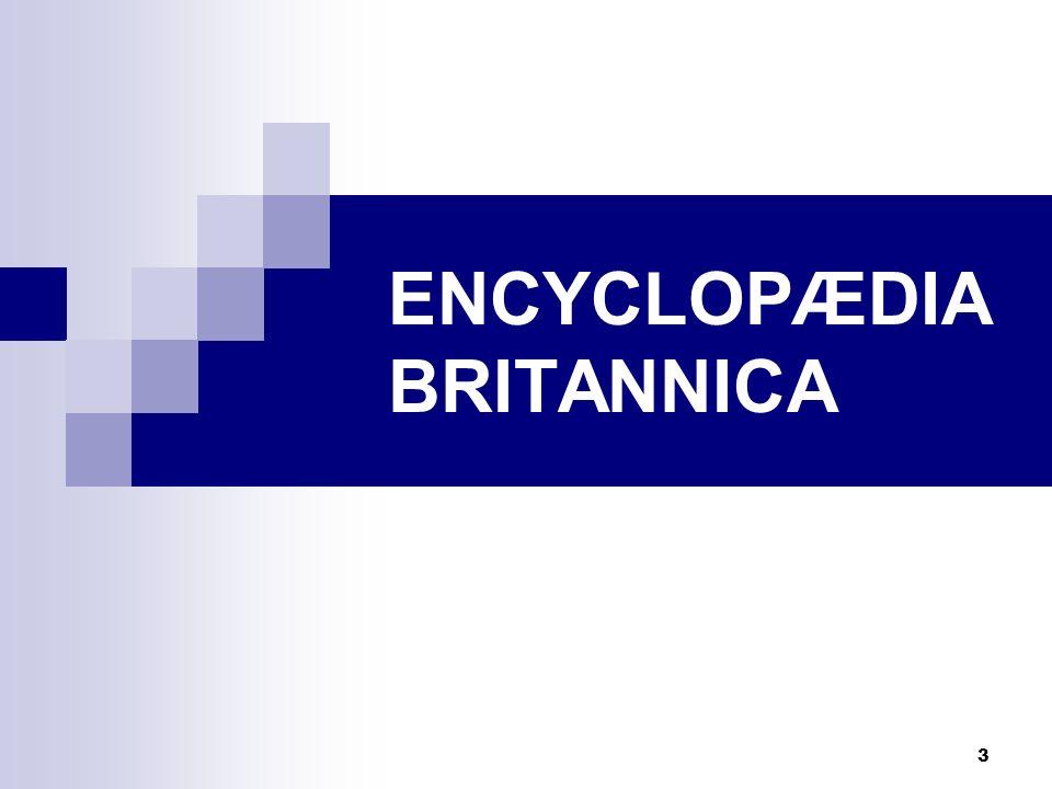 3 ENCYCLOPÆDIA BRITANNICA