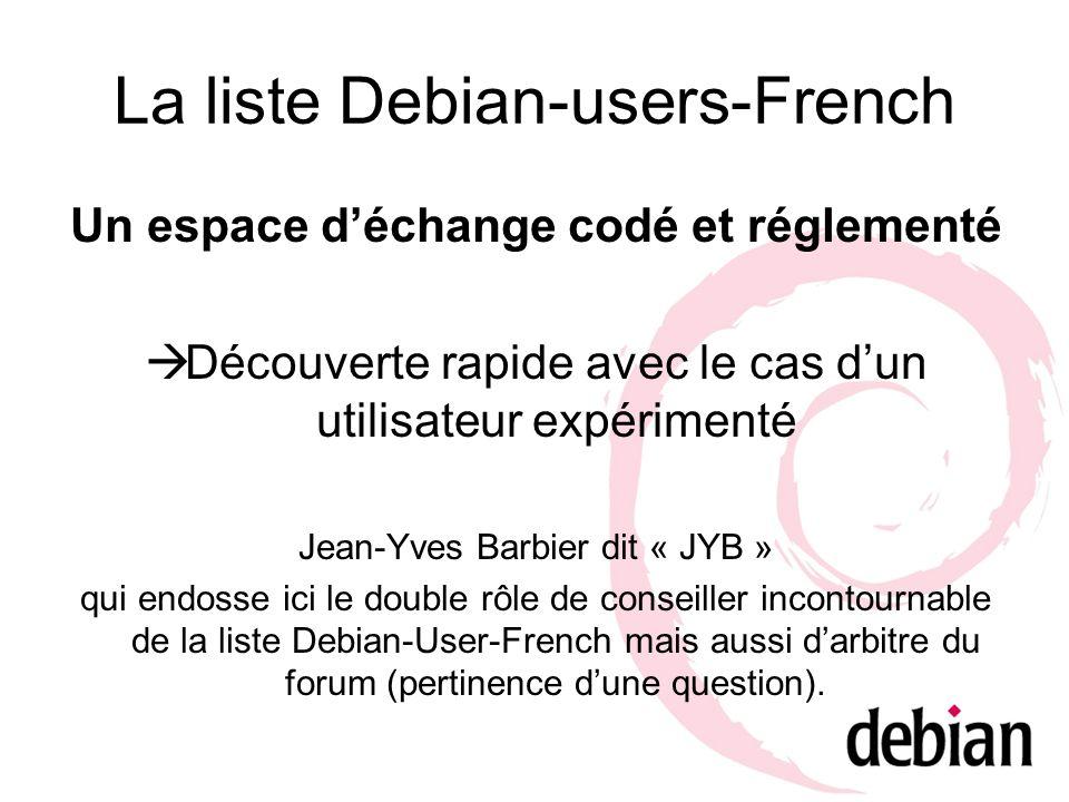 Un espace déchange codé et réglementé Découverte rapide avec le cas dun utilisateur expérimenté Jean-Yves Barbier dit « JYB » qui endosse ici le doubl