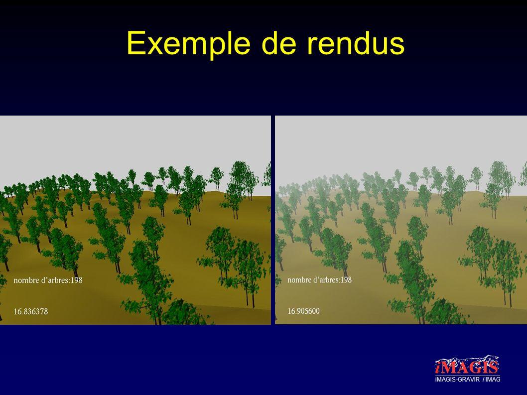 iMAGIS-GRAVIR / IMAG Exemple de rendus