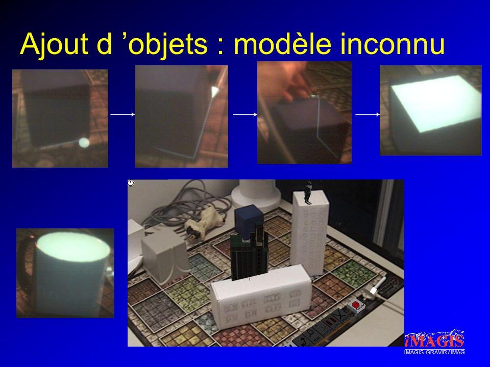 iMAGIS-GRAVIR / IMAG Ajout d objets : modèle inconnu