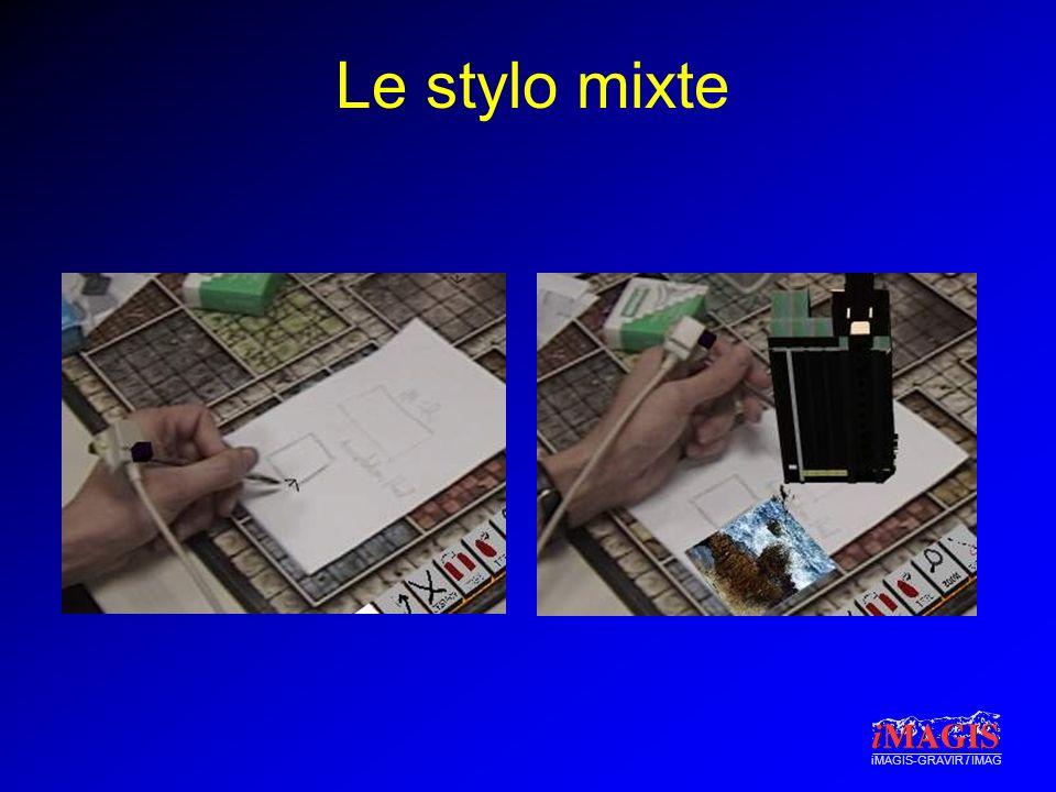 iMAGIS-GRAVIR / IMAG Le stylo mixte