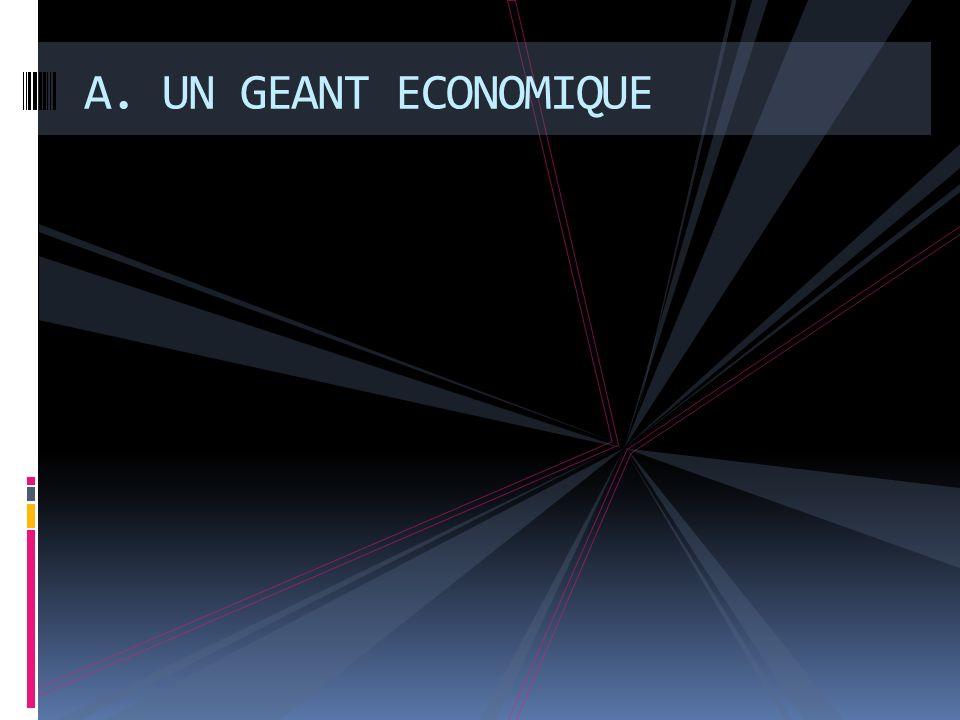 A. UN GEANT ECONOMIQUE
