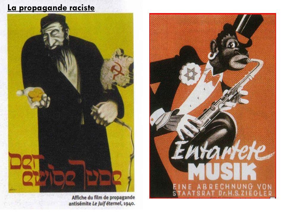 La propagande raciste