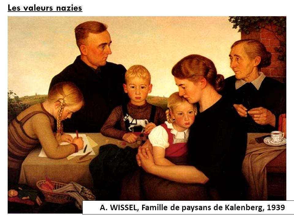 A. WISSEL, Famille de paysans de Kalenberg, 1939
