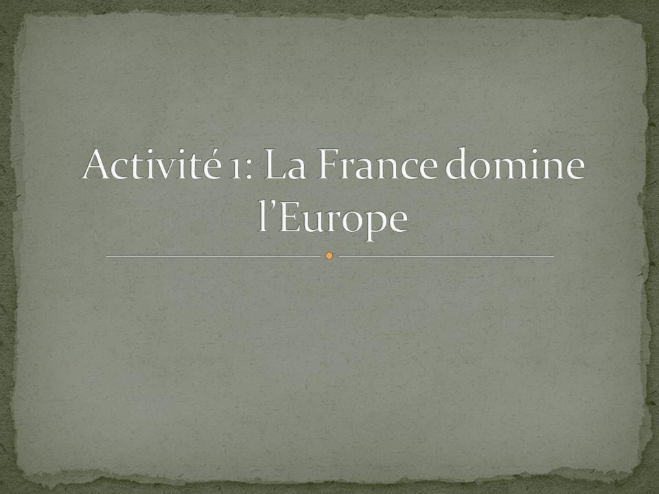 LEurope en 1811