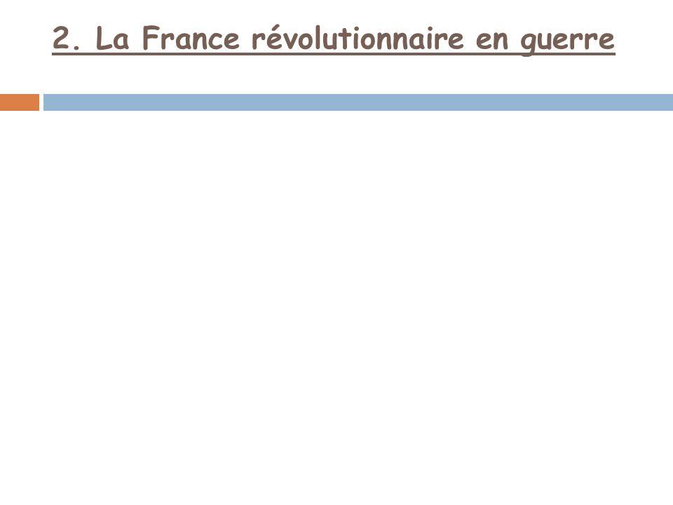 Les rois européens craignent que la Révolution française ne sétende à leurs pays; ils menacent donc la France.