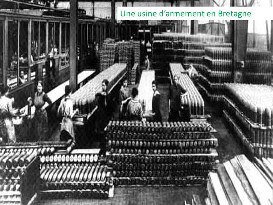 Une usine darmement en Bretagne