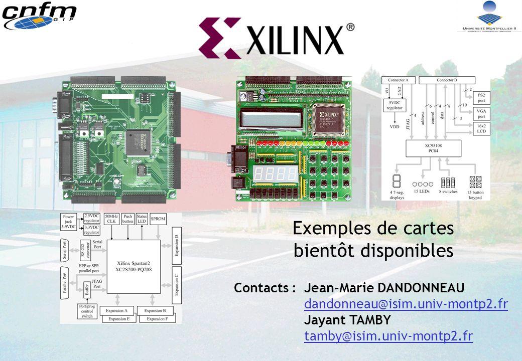 Contacts :Jean-Marie DANDONNEAU dandonneau@isim.univ-montp2.fr Jayant TAMBY tamby@isim.univ-montp2.fr Exemples de cartes bientôt disponibles