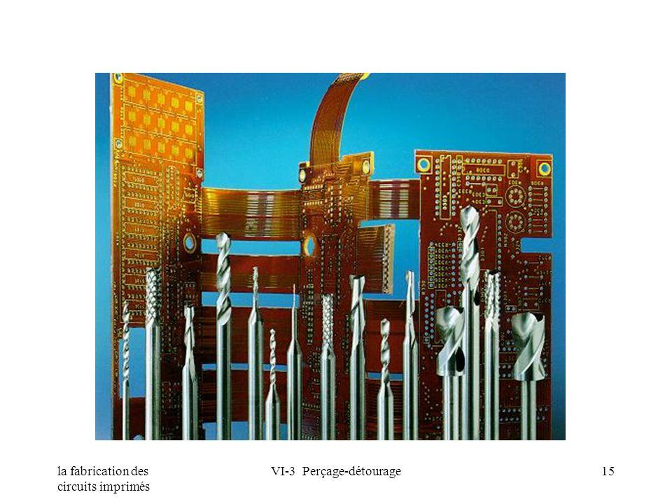 la fabrication des circuits imprimés VI-3 Perçage-détourage15