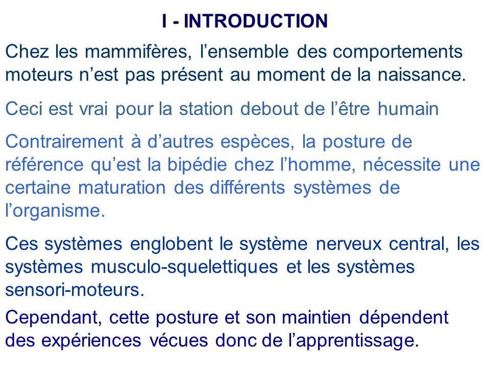 Selon Schmidt (1982), lapprentissage peut être conçu comme un ensemble de processus associés à lexpérience ou à lexercice conduisant à des modifications relativement permanentes du comportement habile.