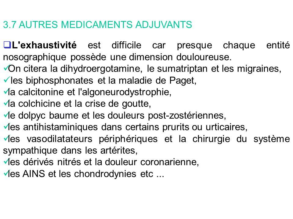 Les anesthésiques locaux : On distingue les anesthésiques locaux injectables et les non injectables.