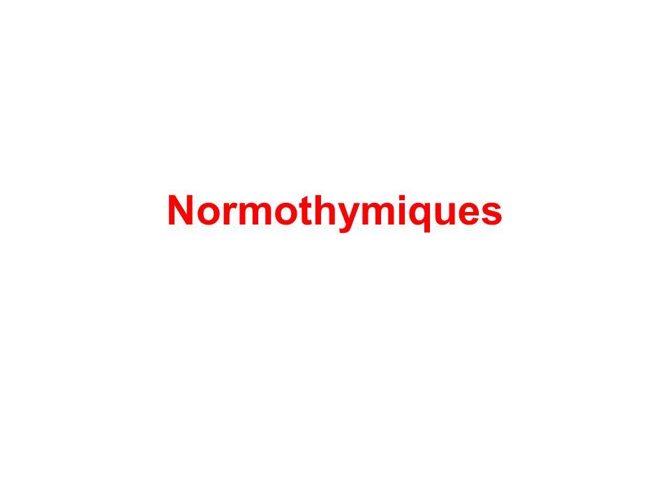 Normothymiques