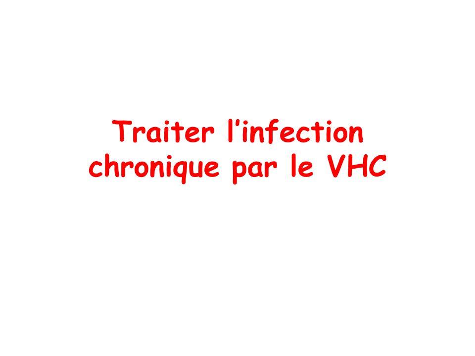Traiter linfection chronique par le VHC