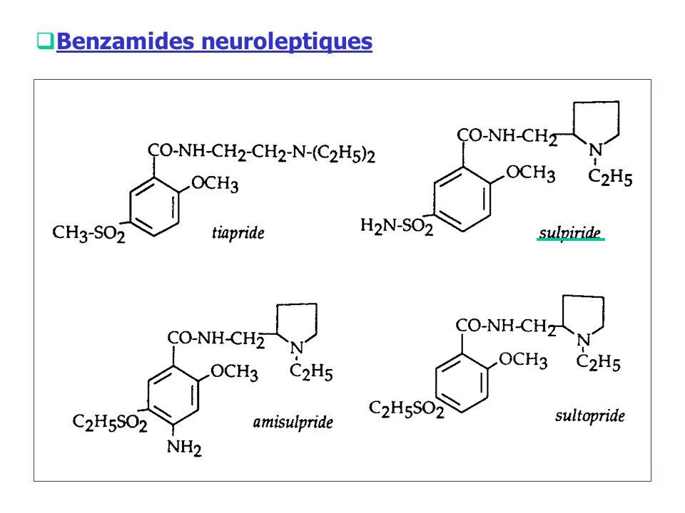 Benzamides neuroleptiques
