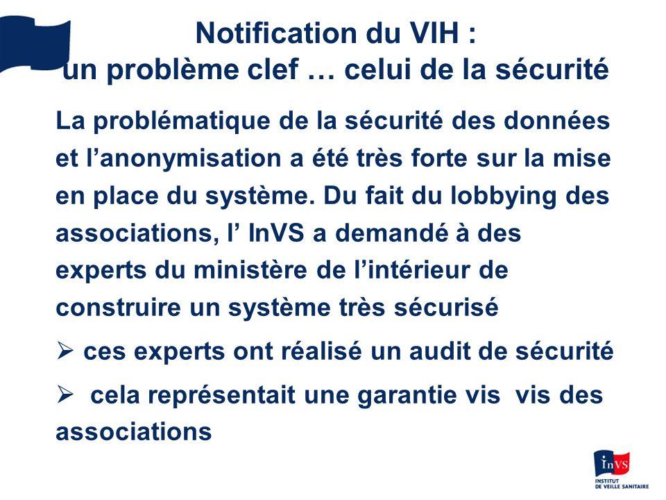 La problématique de la sécurité des données et lanonymisation a été très forte sur la mise en place du système.