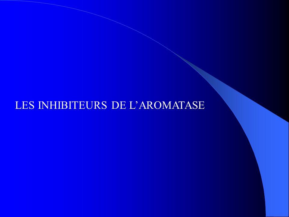 LES INHIBITEURS DE LAROMATASE